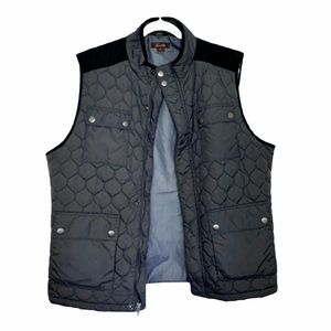 Tasso Elba Gray and Black Vest